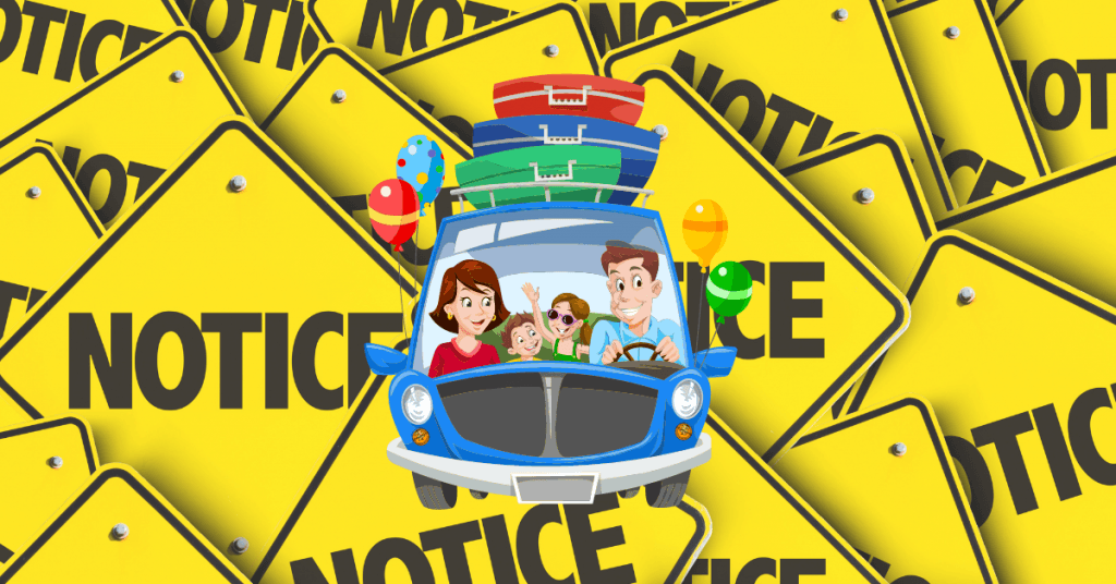 Home daycare Vacation Notice
